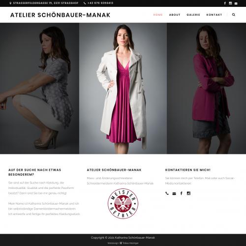 Screenshot of Atelier Schönbauer-Manak's website